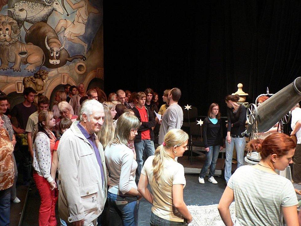 Jihočeské divadlo pořádalo dny otevřených dveří.