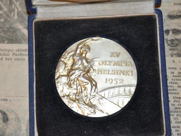 Medaile zolympiády.
