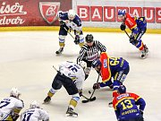 Motor hostil v play off hokejisty z Kladna.