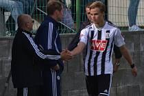 Martin Held proti Liberci jeden gól dal, na další nahrál.