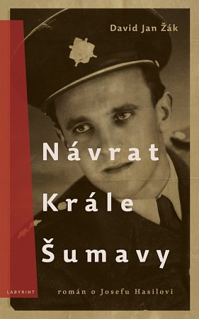 Obálka bestselleru Návrat Krále Šumavy od Davida Jana Žáka.