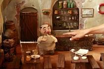 Výstava, která potrvá od 1. do 25.září 2011 v kulturním prostoru Sladovna v Písku, představí 14 filmových dekorací a desítky loutek z filmu Autopohádky.