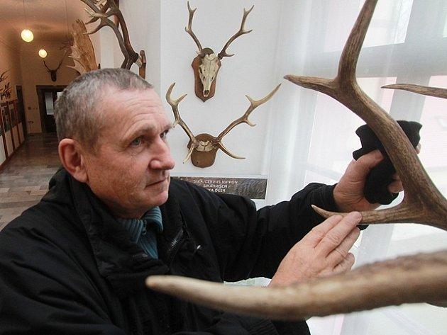 Příprava nové expozice v Národním zemědělském muzeu Ohrada.