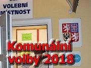 Volby v centru Ústí nad Labem krátce po jejich pátečním zahájení