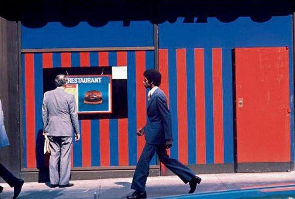 Snímky zcyklů českobudějovického fotografa Jana Lukase vystavené vGalerii Měsíc ve dne. Americký Manhattan 70.let.