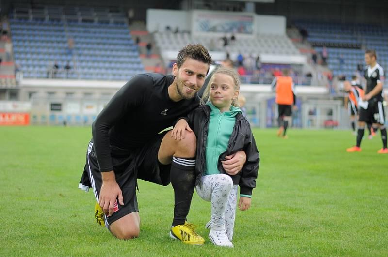 Michal Klesa s dcerou