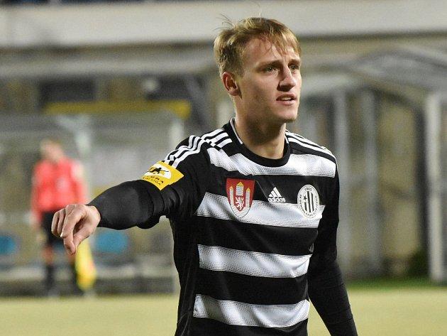 Patrik Čavoš v zápase s Vlašimí dal první gól Dynama.
