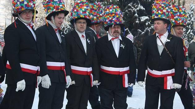 Hasiči z Údolí se nenechali odradit krutými mrazy a uspořádali v sobotu tradiční masopust.