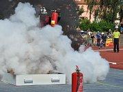 MČR v požárním sportu, sobota odpoledne - štafeta 4 x 100 metrů s překážkami