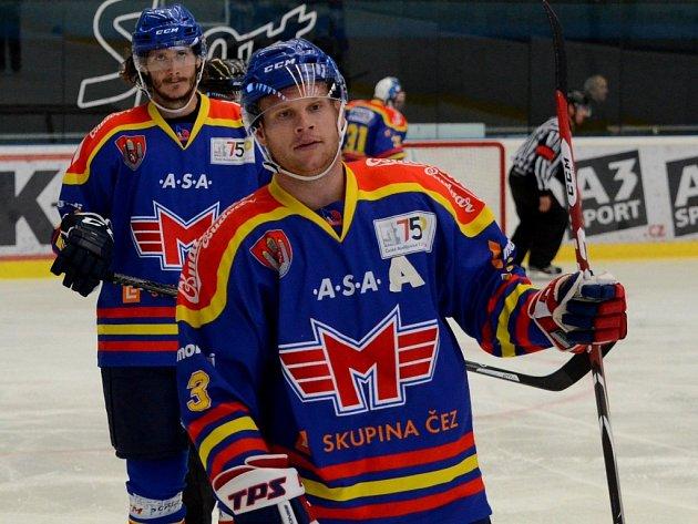 Ján Mucha (vpředu) a Lukáš Bohunický.