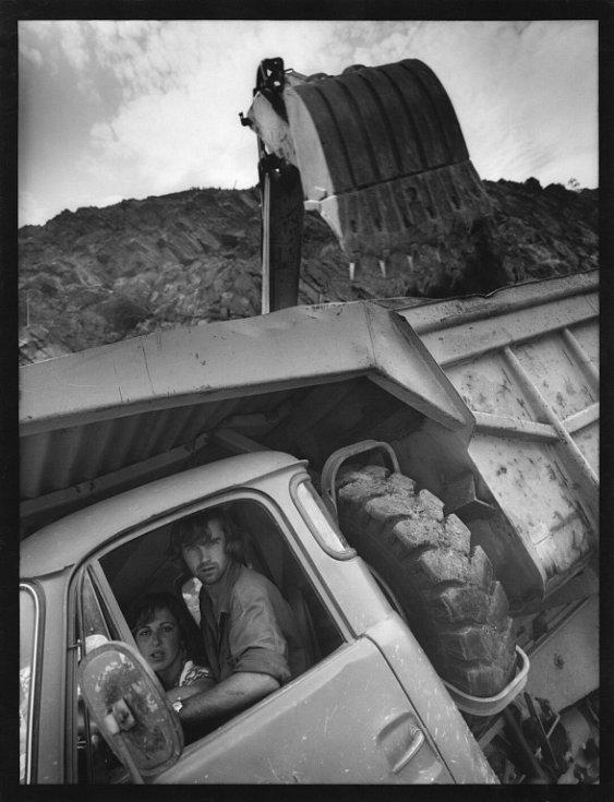 Národní muzeum fotografie v Jindřichově Hradci slaví 10 let a otevřelo 10 výstav, které potrvají do 30. září.  Snímek Dalešice, autor Bernard Goldwein, 1975.
