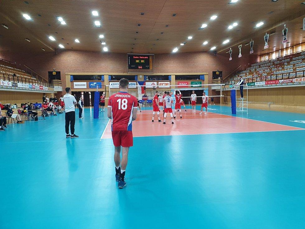 Česká volejbalová reprezentace v přípravě na Evropskou ligu