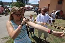 Staročeská pout pod Kletí se konala v Chlumu u Křemže