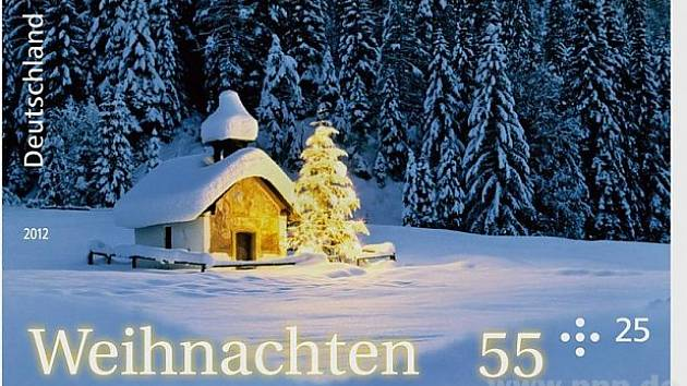 Vánoce v Bavorsku.