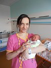 V náručí maminky Markéty spokojeně odpočívá holčička Markéta Šulistová. Ta se narodila v neděli 3. 4. 2016 ve 13 hodin a 22 minut. Po narození vážila 2,84 kg.