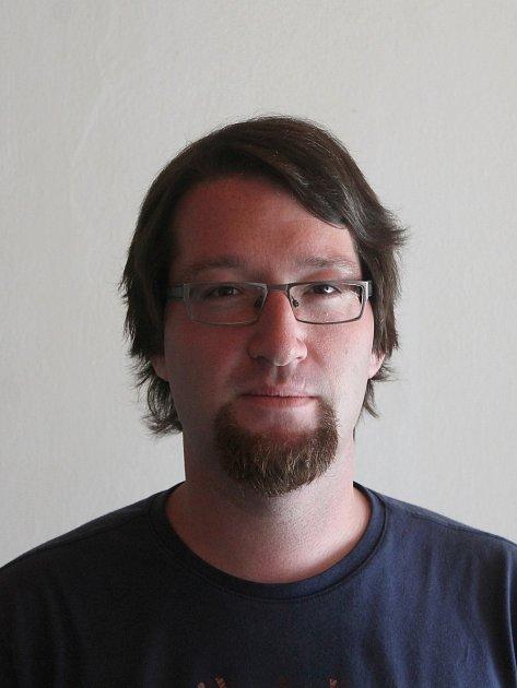 Redaktor Jindřichohradeckého deníku Adam Hudec.