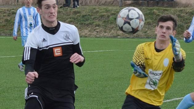 Ani Matyáš Markytán svou šanci v Příbrami neproměnil a devatenáctka Dynama tam prohrála 1:0. V sobotu hrají mladíci Dynama doma s Opavou.