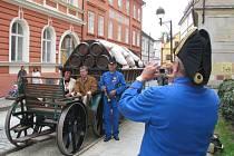 Na podzim se koněspřežka vrátila nakrátko do města při Dnech evropského kulturního dědictví.