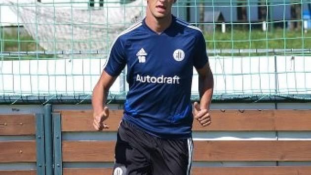 Matěj Valenta přišel do Dynama z pražské Slavie, lv minulé sezoně hostoval v Ústí nad Labem.