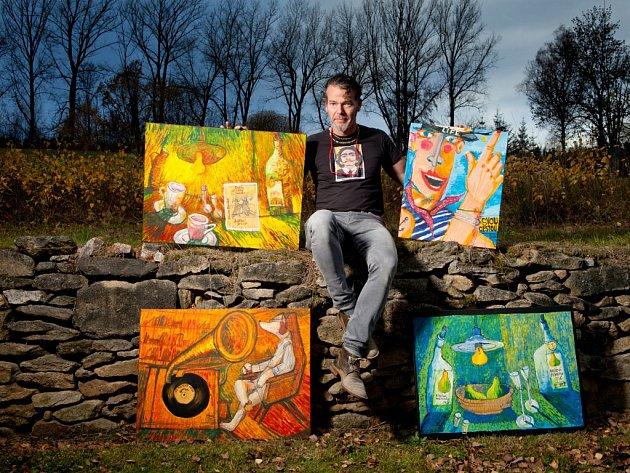 Autohavárie může paradoxně za to, že Hynek Fuka (52) z Českých Budějovic začal malovat. Když se probral z třídenního komatu, rozhodl se, že si splní dětský sen a stane se malířem. Učil se znovu mluvit, ale vše zvládl. Dnes maluje na chalupě v Meziluží.
