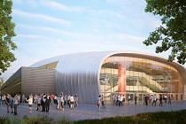 Dvě palubovky místo jedné, to je klíčová přednost projektu nové sportovní haly. Obě budou zcela samostatné i s hledištěm.