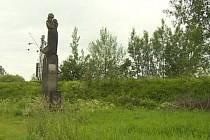 Pomník v Hrdějovicích.