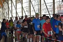 V sobotu se na českobudějovickém výstavišti už potřetí běžel maraton. Na start se postavilo 106 běžců a běžkyň.
