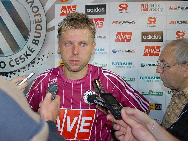 David Horejš po zápase se Slováckem odpovídá na dotazy Deníku.