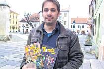 Ondřej Frencl miloval od dětství komiksy. Oblíbený měl zejména Čtyřlístek. Láska ke komiksům ho dovedla až ke dvěma vlastním knihám.