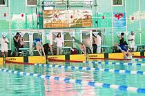 Plavecký bazén v Českých Budějovicích. Ilustrační foto.