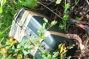 Podezřelý kufr v Lišově.
