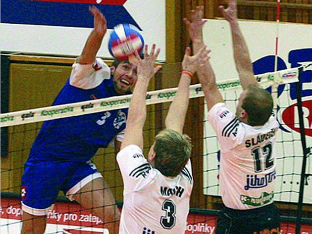 Martin Böhm útočí proti svým. Hrál dobře.