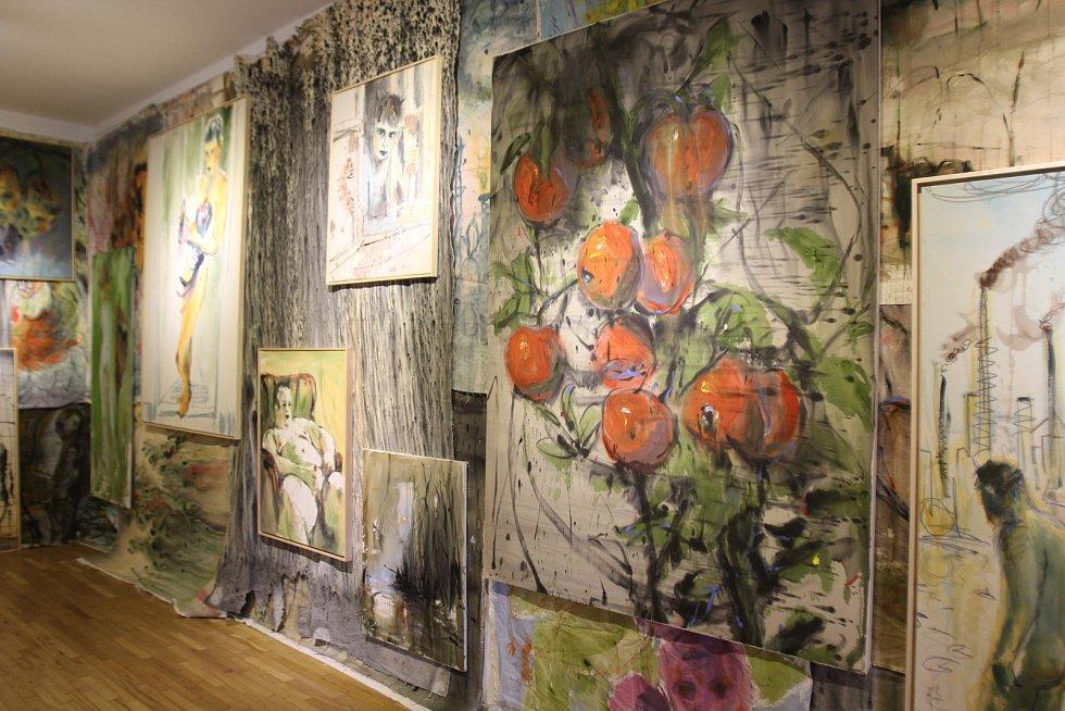 Andrej Dúbravský vystavuje v Galerii Mariánská.
