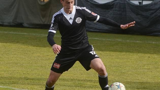 Jiří Funda dal v zápase s Duklou čestný gól Dynama.