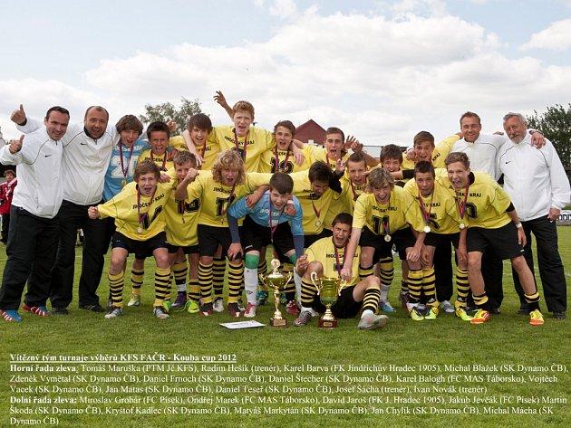 Jihočeská radost po vítězství v Kouba Cupu.