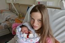 Laura Koptyšová z Písku. Prvorozená dcera Elišky Suché a Radka Koptyše se narodila 8. 4. 2021 ve 13.51 h. Váha po porodu ukazovala 3,40 kg.