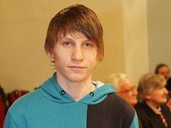 Třináctiletý Václav Příhoda vyrábí letecké modely. Loni zvítězil na světové soutěžní výstavě Scale Model World v Anglii.