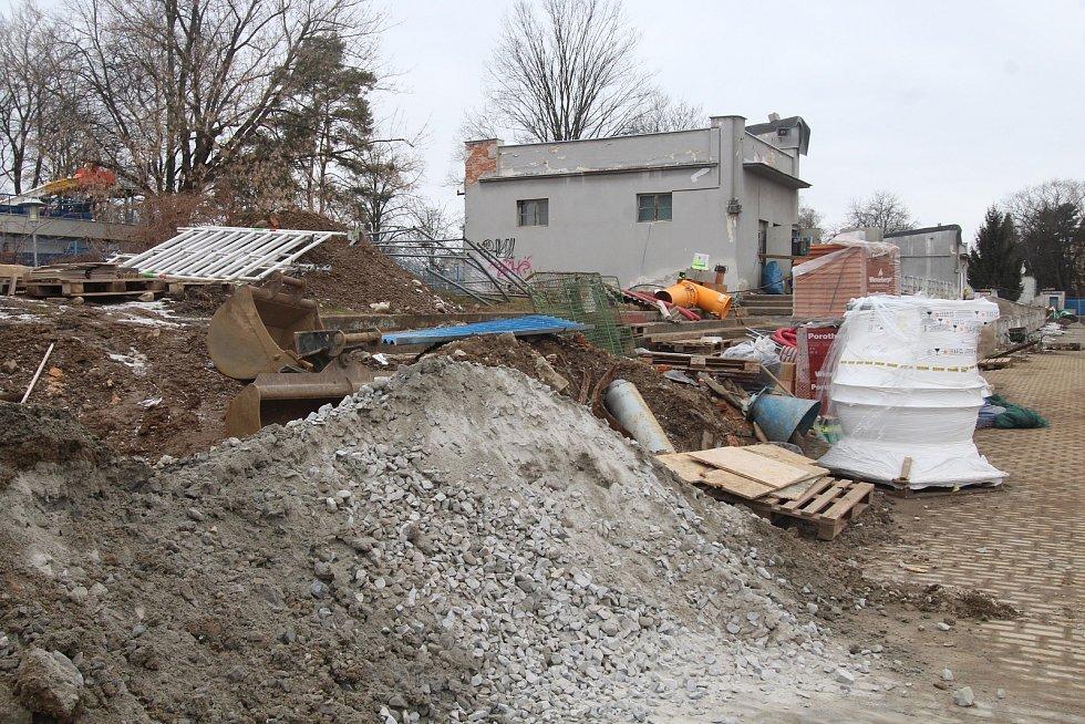 Rekonstrukce tribuny Sokolského stadionu