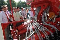 V Českých Budějovicích byla zahájena výstava Země živitelka