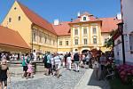 V sobotu začalo v Borovanech tradiční Borůvkobraní. Bohatý program si můžete užít i v neděli.