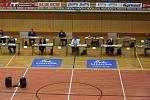 Zastupitelstvo zasedá kvůli koronaviru ve sportovní hale.