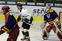 Hokejové sdružení HC ČB se stará hlavně o hokejovou mládež. Na snímku extraliga juniorů se Sokolovem.