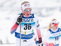 Barbora Hlavíčková zvládla na MSJ i svůj skiatlonový debut.