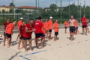 Volejbalisté Jihostroje v Písku