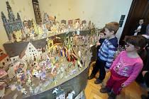 Pokus o rekordní betlém v Jihočeském muzeu v Českých Budějovicích