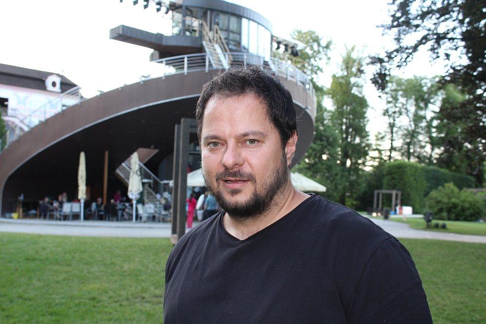 Stávající šéf opery Tomáš Studený.