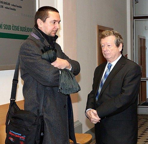 Juraj Thoma u krajského soudu 3. února 2015.