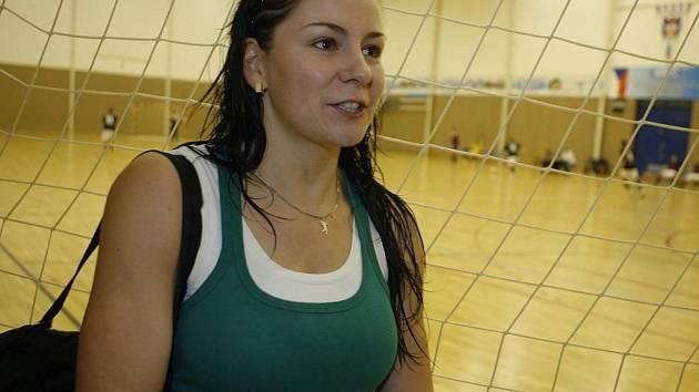 """Zuzana Keslerová šla z J. Hradce do Č. Budějovic za házenou i za přítelem, """"zabila"""" tak dvě mouchy jednou ranou."""