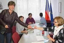 Komunální volby 2016 v obci Hradce. Volit se chystá Martina Vojáčková.