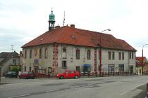 Rudolfovská radnice.